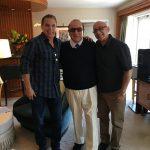 <p>Jud Friedman with Clive Davis & Allan Rich</p>