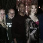<p>Mindi Sue, Jim Nelson, Eric, Alicia Witt, Mike</p>
